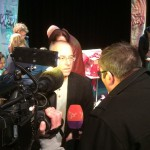 Interview voor TV