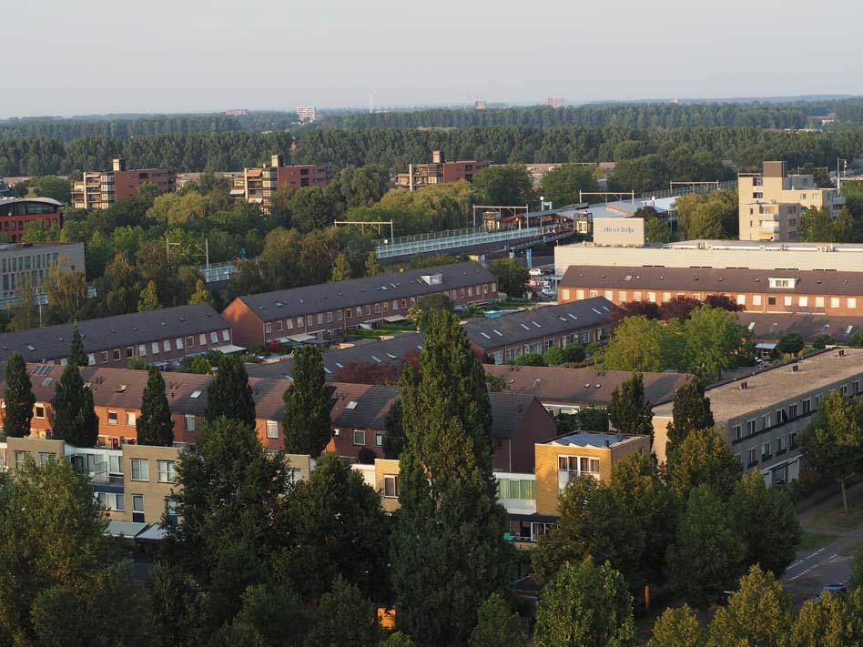 Parkwijk met station