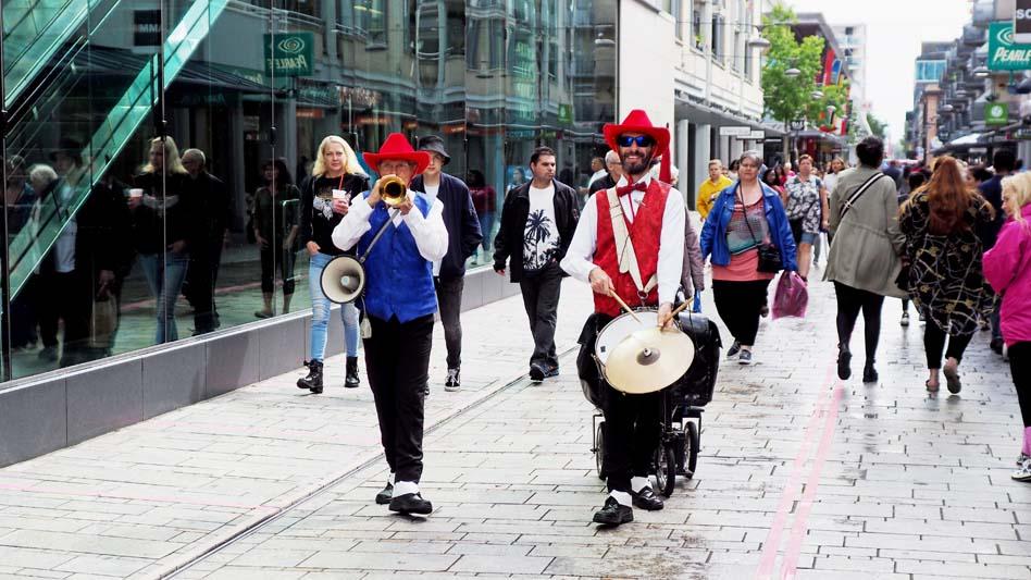 Muziek in Stationsstraat